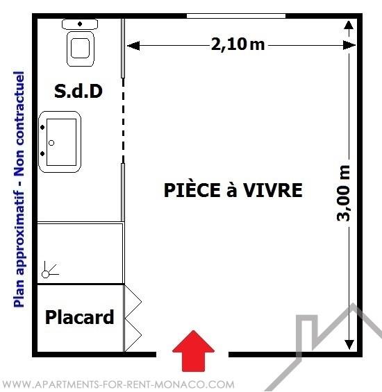 Chambre de service avenue d 39 ostende propri t s vendre for Chambre de commerce monaco
