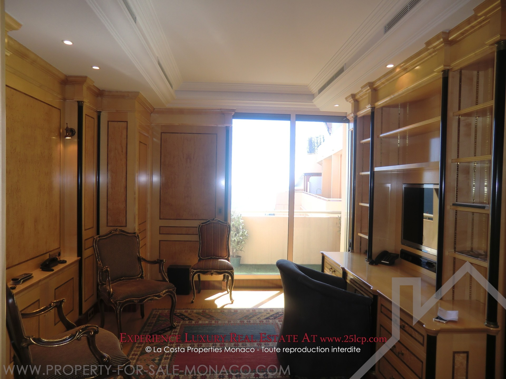 monte carlo bel appartement meubl propri t s vendre monaco. Black Bedroom Furniture Sets. Home Design Ideas