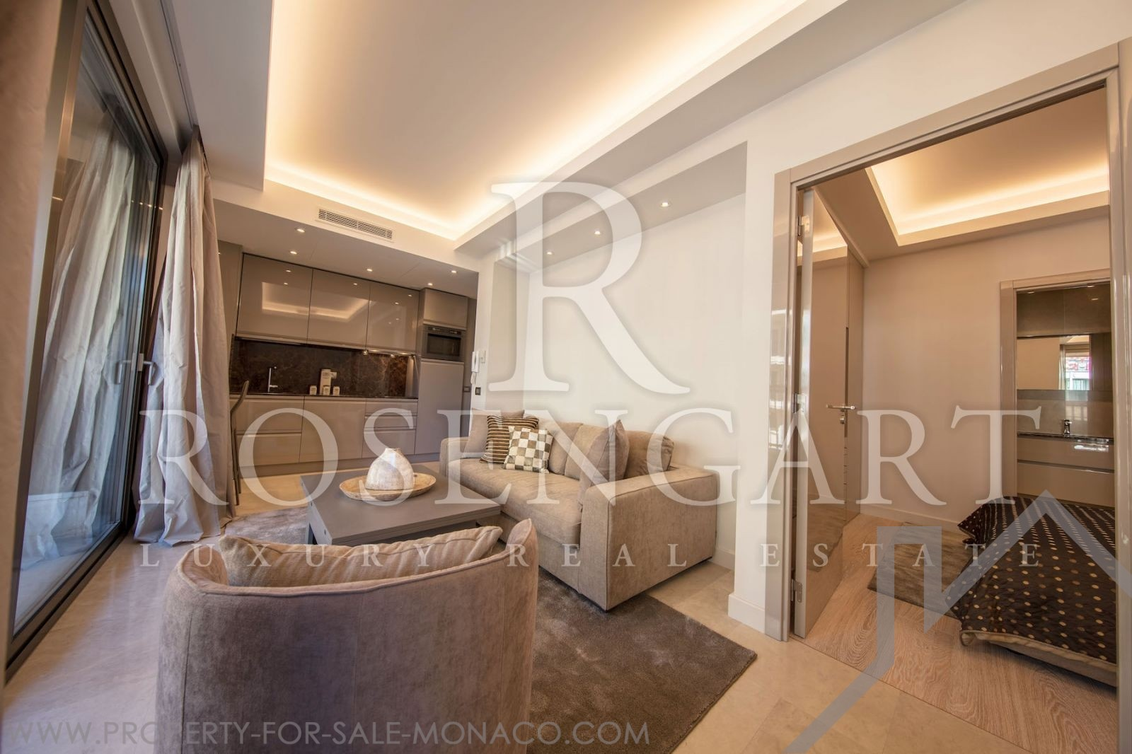 Appartement design haut de gamme vue grand prix for Grand appartement design